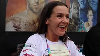 'SHE GOT STRAIGHT ON THE FLUIDS!' - TERRI HARPER ON NATASHA JONAS WEIGHT RUMOURS / WBC TITLE CLASH