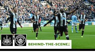 BEHIND-THE-SCENES | Newcastle United 2-2 Manchester City