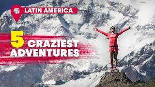 The 5 Wildest Adventures In Latin America   Red Bull Top 5