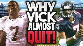 The REAL REASON Michael Vick Almost QUIT Football and Never Played Again