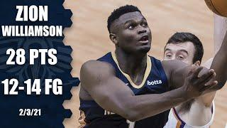 Zion Williamson's efficient outing fuels Pelicans in matchup vs. Suns [HIGHLIGHTS] | NBA on ESPN