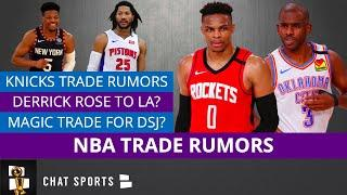 NBA Trade Rumors: Chris Paul, Russell Westbrook & Melo To The Knicks? Derrick Rose Trade To Lakers?