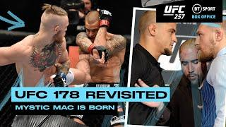 UFC 178 Revisited! McGregor and Poirier Fight Week clashes and Fight Highlights!