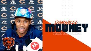 Darnell Mooney talks about 'being a spark' for the offense | Chicago Bears