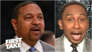 Stephen A. makes the case for Mark Jackson to be the Knicks' next coach | First Take
