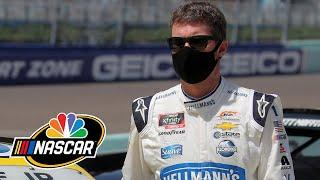 Dale Earnhardt Jr. calls himself 'rusty' after NASCAR Xfinity race at Miami | Motorsports on NBC
