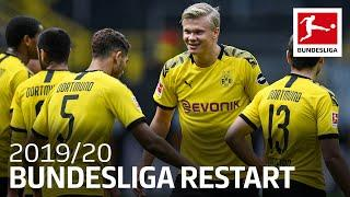 How Haaland, Lewandowski and Co. Celebrated the Bundesliga Restart 2019/20