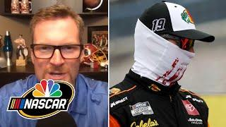 Should Joe Gibbs Racing drivers be concerned? | NASCAR America at Home | Motorsports on NBC