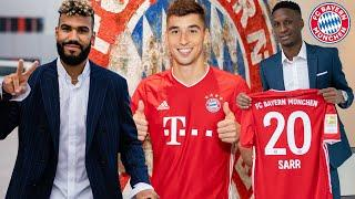 First hours of Choupo-Moting, Roca & Sarr at FC Bayern