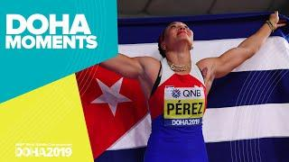 Yaime Perez Takes Discus Gold | World Athletics Championships 2019 | Doha Moments