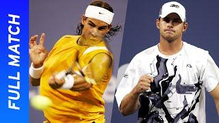 18-year-old Rafael Nadal vs 22-year-old Andy Roddick | US Open 2004 Round Two Full Match