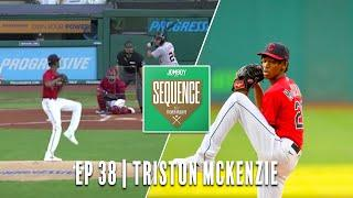 Triston McKenzie talks picking up his first MLB strikeout against Miguel Cabrera   Sequence Ep #38