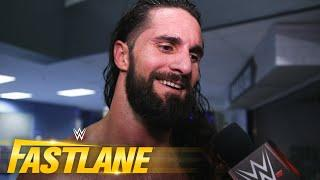 """Seth Rollins in awe over his """"in-ring drip"""": Fastlane Exclusive, March 21, 2021"""