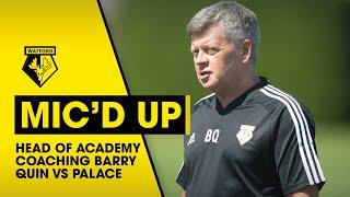 """""""IF JOÃO GETS THE BALL & GOES AT THEM, HE'LL DESTROY THEM""""   HEAD OF ACADEMY COACHING MIC'D UP"""