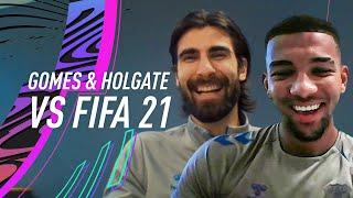 Who is the STRONGEST player at Everton?   FIFA 21 vs Andre Gomes and Mason Holgate