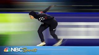 Brittany Bowe wins second-straight 1500m speed skating World Cup in Heerenveen | NBC Sports