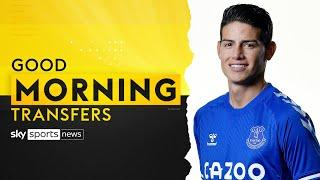 How will James Rodriguez perform at Everton? | Good Morning Transfers