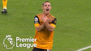 Daniel Podence volleys Wolves into 2-0 edge over Crystal Palace | Premier League | NBC Sports