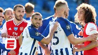Arsenal lose at Brighton and look 'ridiculous' with Neal Maupay-Bernd Leno incident | Premier League