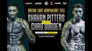 'I WILL STOP YOU LATE!' - *SHAKAN PITTERS v CHAD SUGDEN* (E-PRESSER) - BRITISH TITLE FIGHT | AUG 22