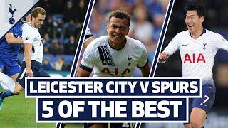 Dele's first Spurs goal! 5 OF THE BEST | SPURS BEST GOALS AT LEICESTER