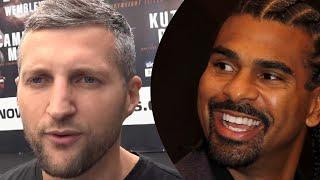 """""""You can see why people are dismissing Chisora"""" Carl Froch & David Haye discuss Usyk vs. Chisora"""