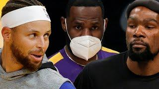 Steph Curry, Kevin Durant & LeBron James All Back To Fight For NBA Title As 2021 Season Begins