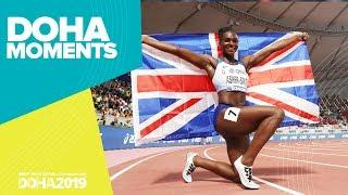 Dina Asher-Smith dominates 200m final | World Athletics Championships 2019 | Doha Moments