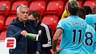 Jose Mourinho lambasts 'MENTALLY WEAK' players after Tottenham lose at Sheffield United | ESPN FC