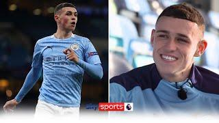 'I always believed I could play here!' | Phil Foden on growing up & coming through at Man City