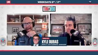 Leafs GM Kyle Dubas On What Went Wrong | Tim & Sid