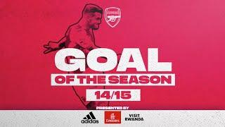 SO MANY GREAT GOALS! | Alexis, Wilshere, Ramsey | Arsenal Goal of the season 2014/15