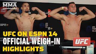 UFC Fight Island 3 Official Weigh-In Highlights - MMA Fighting