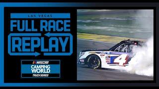 Bucked Up 200 From Las Vegas | NASCAR Camping World Truck Series Full Race Replay