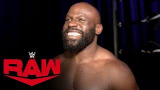 Apollo Crews can't wait for Money in the Bank: Raw Exclusive, April 20, 2020