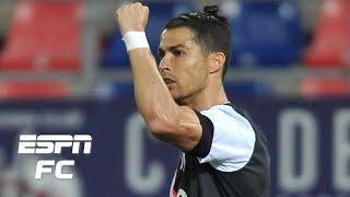 Cristiano Ronaldo scores for Juventus vs. Bologna, but needs to find his stride - Hislop   Serie A