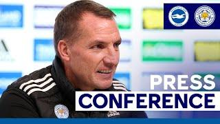 'Still A Long Way To Go' - Brendan Rodgers | Brighton & Hove Albion vs. Leicester City