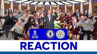 'Incredible Courage' - Brendan Rodgers | Chelsea 0 Leicester 1 | FA Cup Final
