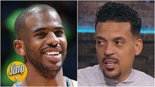 Matt Barnes is interested to see Chris Paul's debut with the Suns | The Jump