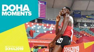 Kipruto Wins 3000m Steeplechase in Photo Finish | World Athletics Championships 2019 | Doha Moments