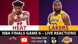 Lakers vs Heat NBA Finals Game 6 Live Streaming Scoreboard, Play-By-Play, Stats, Highlights, Updates