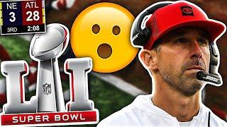 The ONE PLAY Kyle Shanahan Wishes He Had Back Before The Falcons BLEW a 28-3 Super Bowl Lead