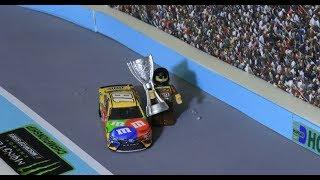 Stop Motion NASCAR: Denny gets hot and Kyle Busch wins at Homestead-Miami Speedway