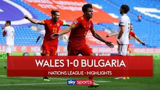 Williams scores 94th minute winner! | Wales 1-0 Bulgaria | Nations League Highlights