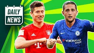 Bayern Munich are CHAMPIONS + Juventus offer Chelsea huge swap deal!  Daily News