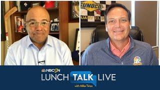 Steve Letarte excited to see NASCAR fans at Talladega Superspeedway | Lunch Talk Live | NBC Sports