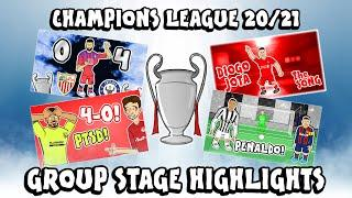 UCL GROUP STAGE HIGHLIGHTS 2019/2020 UEFA Champions League Best Games and Top Goals