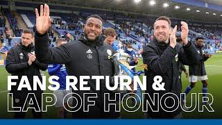 Fans Return To King Power Stadium | FA Cup Trophy Parade