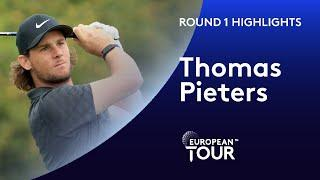 Thomas Pieters' impressive first round in 5 months | Round 1 | Celtic Classic