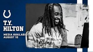 T.Y. Hilton On Current Health, Building Relationship with Philip Rivers